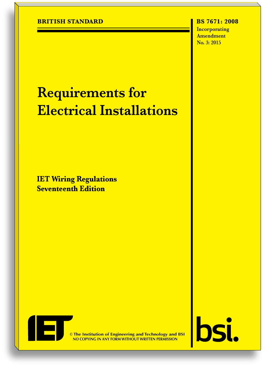 c g 2382 15 17th edition wiring regulations courses the 17th edition wiring regulations book wiring regs book